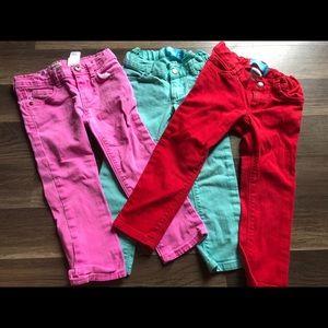 Adjustable waist 3T Old Navy & Oshkosh skinny jean